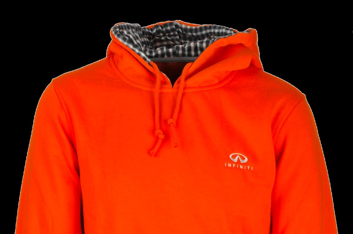 Felpa personalizzata Infinity arancione